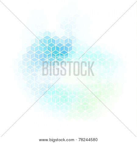 Abstract background with geometric pattern and copyspace
