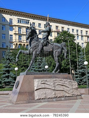 Monument To Pyotr Bagration In Moscow