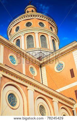 Side Elevation Of Black Madonna Church