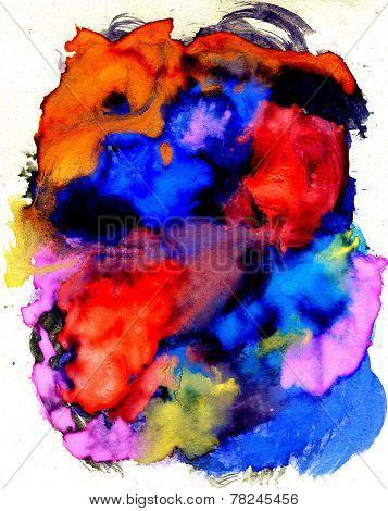 Multicolor Gouache Paint