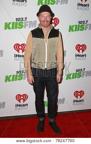 LOS ANGELES - DEC 5:  Jesse Tyler Ferguson at the KIIS FM's Jingle Ball 2014 at the Staples Center on December 5, 2014 in Los Angeles, CA