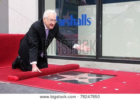 LOS ANGELES - DEC 11:  Don Mischer at the Don Mischer Star on the Hollywood Walk of Fame at the Hollywood Boulevard on December 11, 2014 in Los Angeles, CA