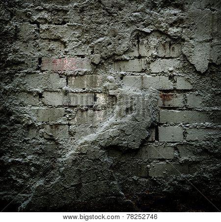 Brick Stone Wall