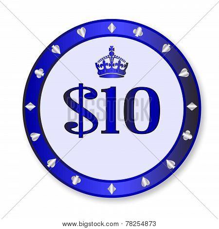 10 Dollar Chip
