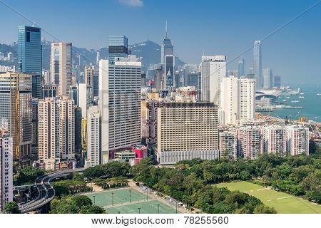 Causeway Bay in Hong kong