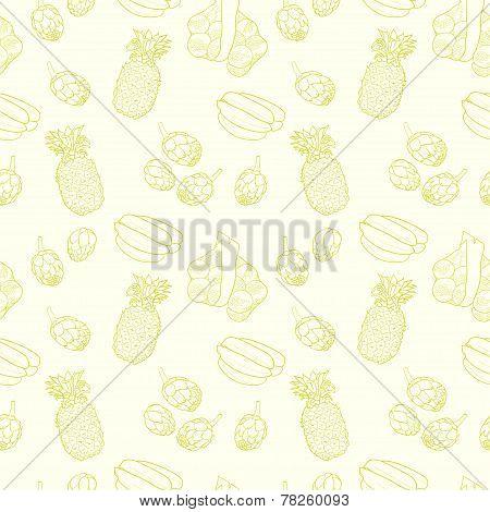 Sketchy Fruits.