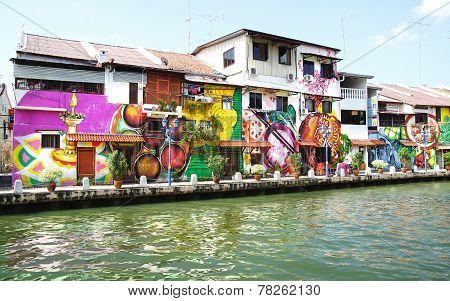Street Art. Melaka, Malaysia