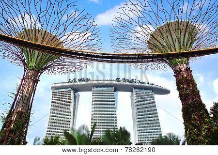 Marina Bay Sands.