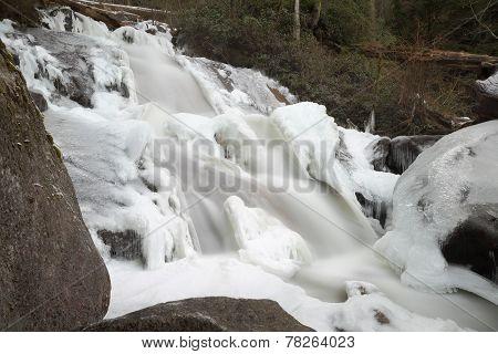 Mountain Falls, Winter Ice