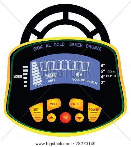 Indicator Metal Detector