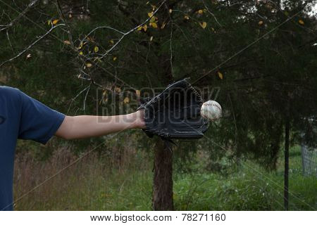 Catching A Baseball