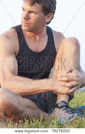 Caucasian Athlete