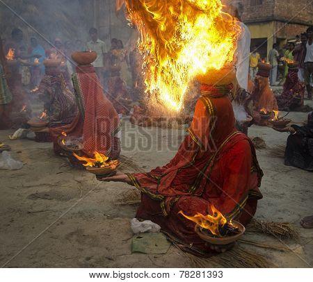 Resin Burning
