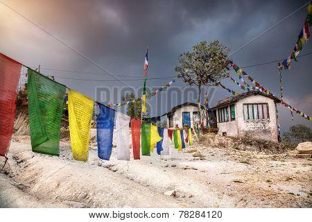 Nepali Mountain Village