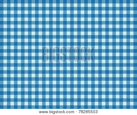 Tablecloth Pattern Lightblue and blue