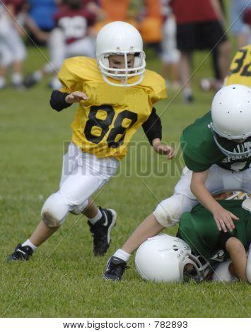 Football running