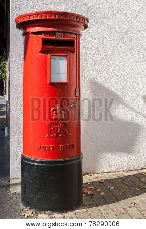 British Red Post Box