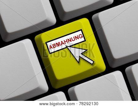 Computer Keyboard: adhortatory letter