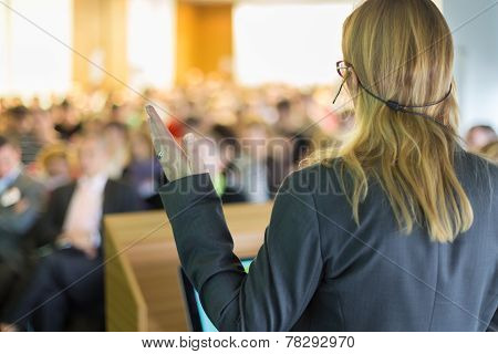 Business Conference and Presentation.