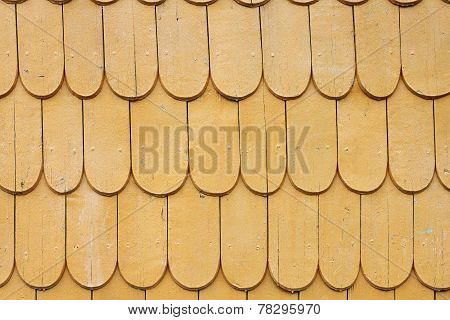 Natural Traditional Wood Roof