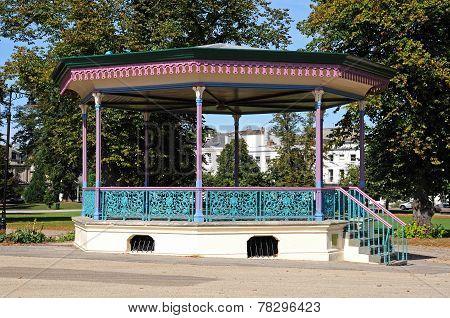 Cheltenham bandstand.