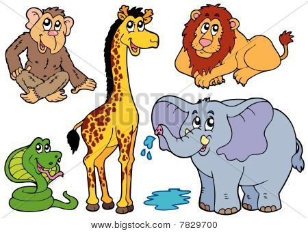 Varios animales africanos