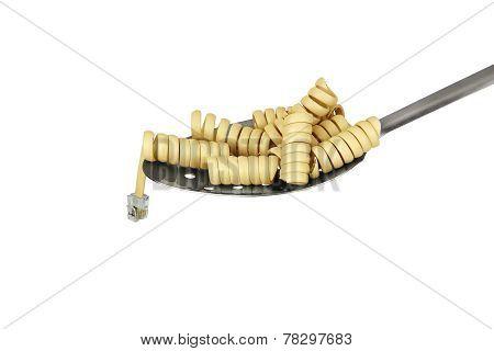 Telephone Cord - Pasta