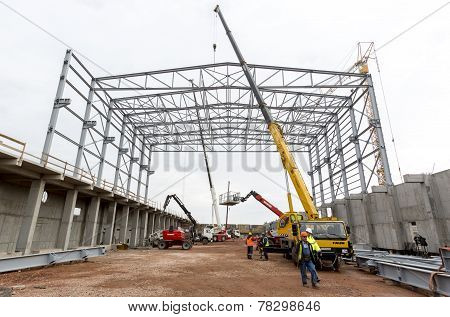 Waste Plant Construction Site