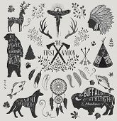 picture of antlers  - The First Nation  - JPG