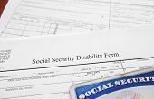 image of social-security  - Social Security Disability form and Social Security card - JPG