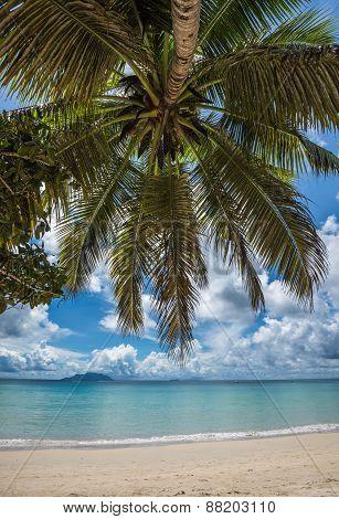 Anse Beau Vallon Tropical Beach, Mahe Island, Seychelles