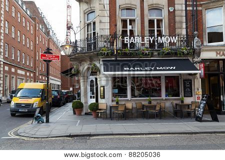 Barley Mow Mayfair