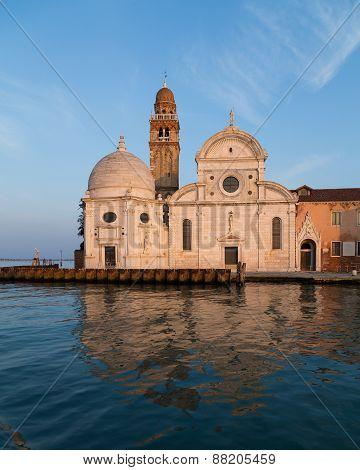 San Michele In Isola Church In Venice