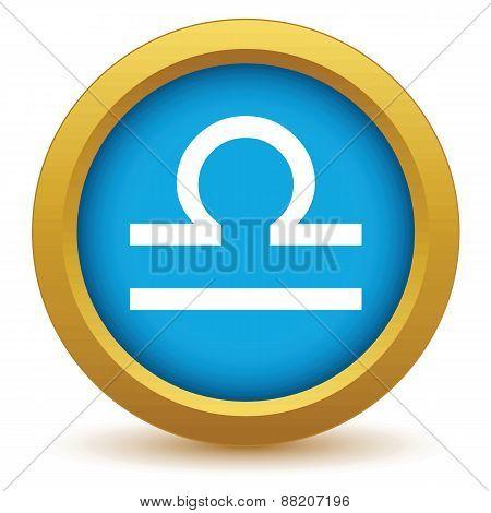 Gold Libra icon