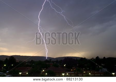 Thunderbolt of lightning