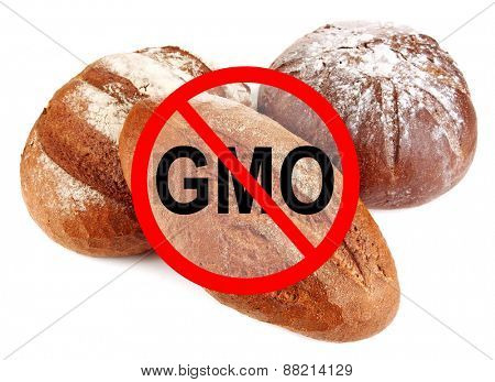 Fresh bread without gmo