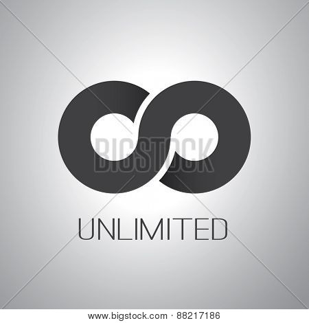 Unlimited Symbol, Icon or Logo Design