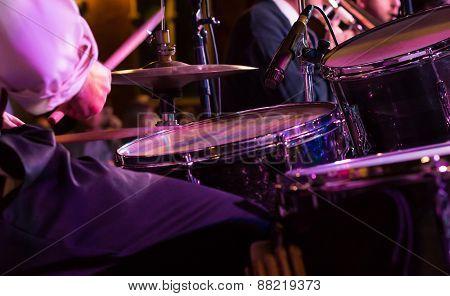 Musician At A Concert