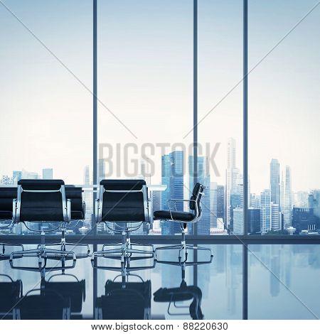 Meeting Room. 3D Rendering