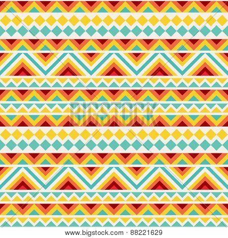 Festive Tribal Seamless Pattern
