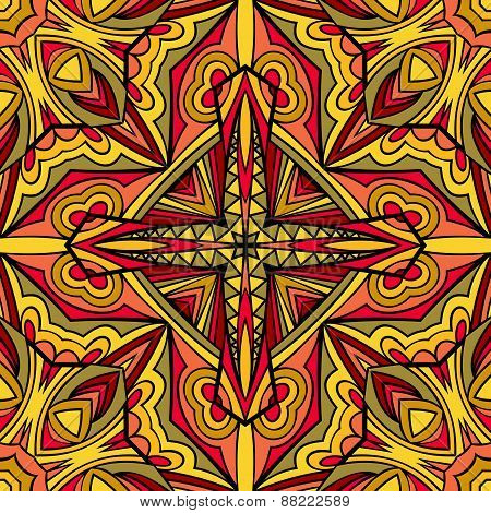 Bright Ethnic Repeatable Ornament