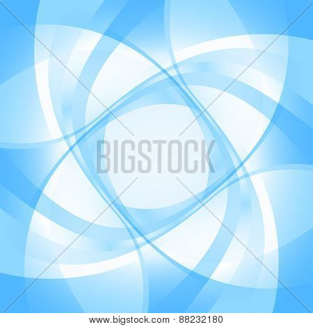 Abstract Blue Backgroundt. Vector Illustration