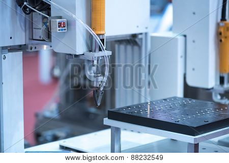 Multifunctional metal working with robot