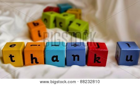 Kids Blocks Thank You