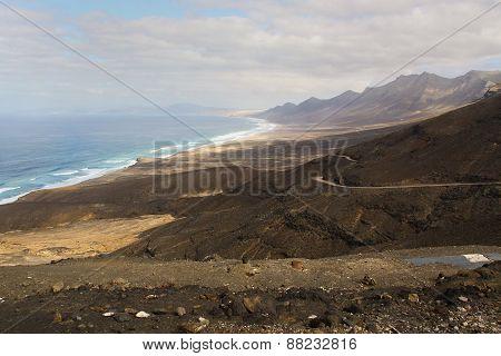 Landscape Beach Cofete