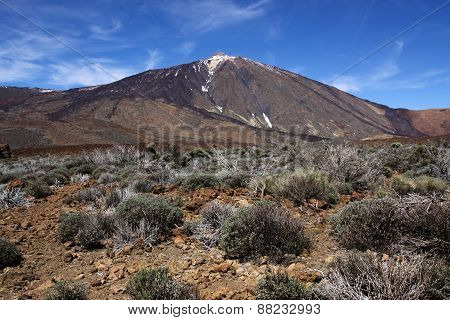 Teide Mountain.