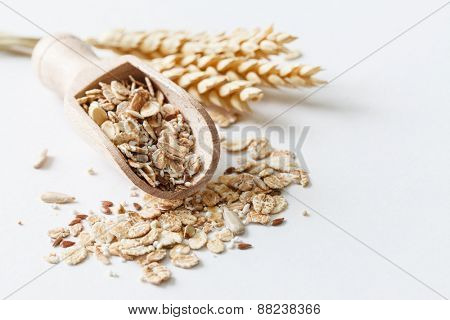 muesli with amaranth