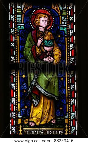 Saint John The Evangelist - Stained Glass