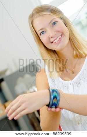 Shopping for a new bracelet