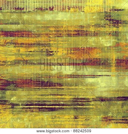 Old antique texture (for background). With different color patterns: yellow (beige); brown; green; purple (violet)